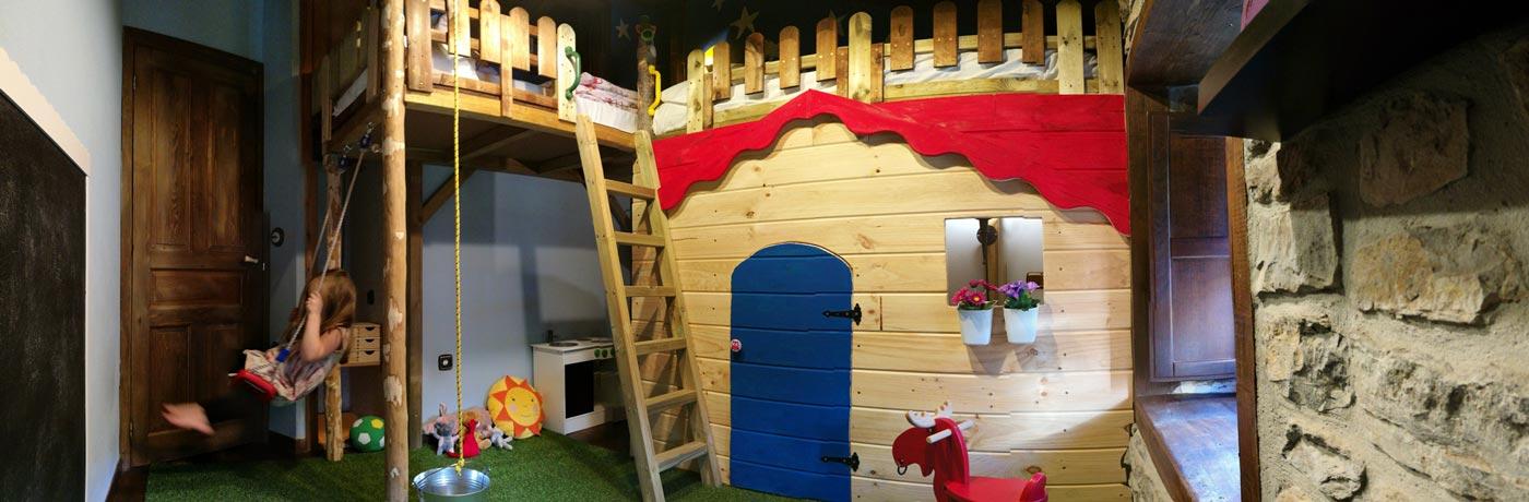 Habitación para niños en Casa La Abuela Aurora