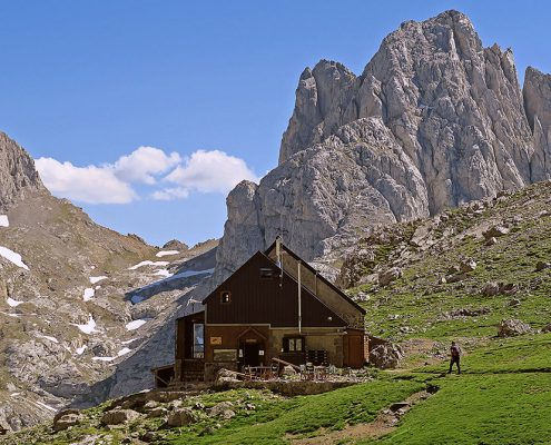 Alojamientos en Picos de Europa - Refugio Collado Jermoso