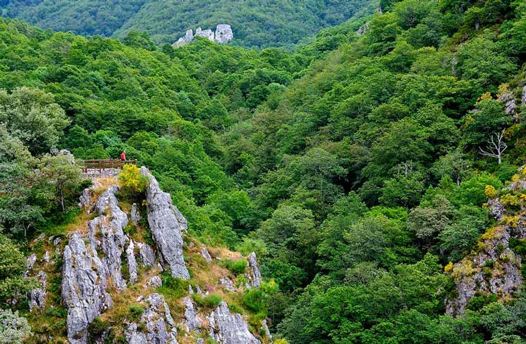 Excursiones por Picos de Europa - Mirador cerca de Oseja de Sajambre. Senda del Arcediano