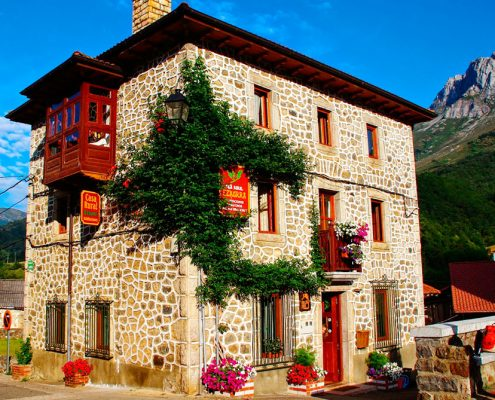 Alojamientos en Picos de Europa - Casa rural Ezkurra